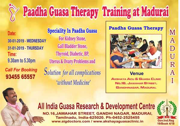 Paadha Guasa Therapy Training