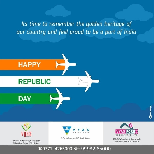 Happy Republic Day to All of y