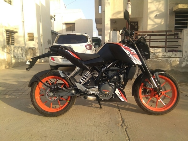KTM DUCK ON RENT IN AHMEDABAD
