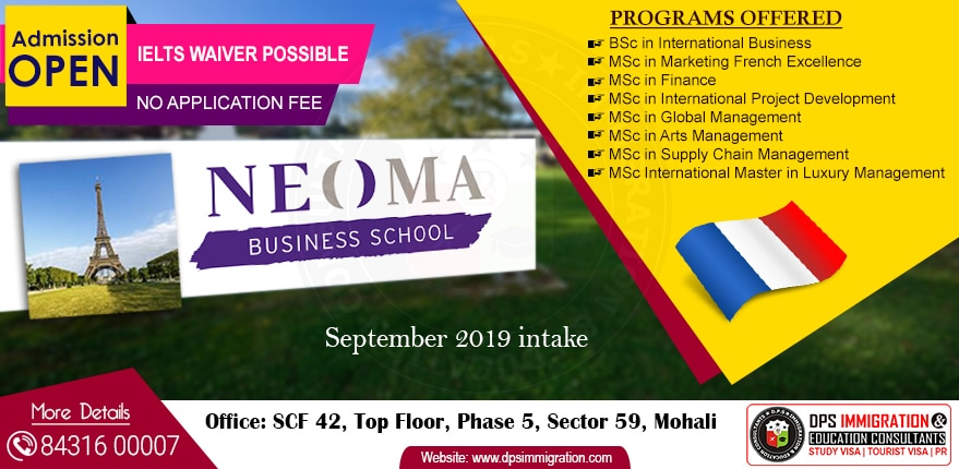 Study In France At Neoma Busin