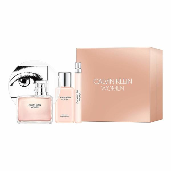 Calvin Klein Eternity Women EDT Giftset 100ml, Body Lotion and EDT Pen Spray 10mlThe CALVIN KLEIN one EDT perfume has a distinct scent that soothes your senses. This unisex fragrance bears a tangy fragrance of pure citrus and is one among the top notes of the brand. The one EDT perfume is ideal for wearing both during day as well as night time. Its zesty yet mild and relaxed scent is perfect for daily wear, as it is not too overwhelming. A scent that you would love to wear for every occasion, this eau de toilette spray is a must addition to your perfume collection.