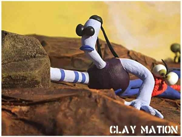 Clay animation is an early for