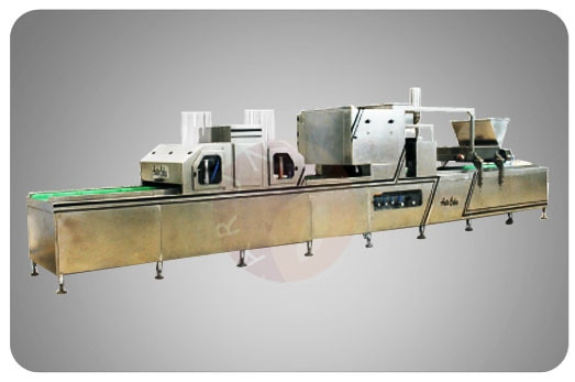 Bakery Machinery Manufacturers Company In ARUN REGA BAKERY MACHINERIES PVT LTD, Coimbatore, Tamilnadu, India We are Manufacturers, Suppliers, Wholesale Dealers and Exporters In Mumbai, Chennai, Kolkata, Bangaluru, Ahmedabad, Hyderabad, Lucknow, Kanpur, Varanasi, Jaipur. Cup Cake preparation Line, Semi Automatic PlantThe perfect choice for cupcake production with a semi-automatic line for faster and more accurate depositing of the batter clubbed along with automatic paper cup dispenser and an oil spraying unit.