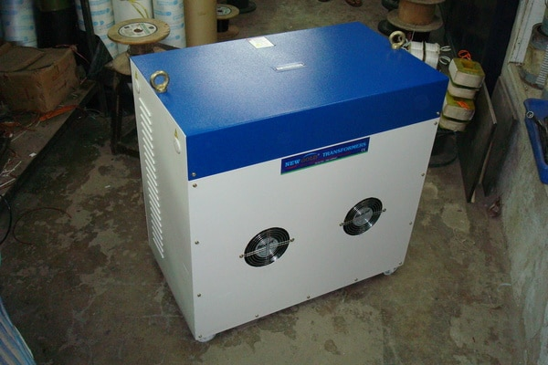 FAN COOLED 3PH TRANSFORMER