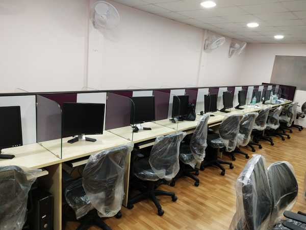 Fully furnished office space for rent in near Spencer plaza, ChennaiContact Number: 9176609004, 9952066766. Rs.3500/Seat+ MaintenanceFully Furnished, Super Built-up area: 3, 300 sq.ft Carpet Area: 2, 100 Sq.ft  Car Parking: 1Washrooms:3	Project Name: Office Space	 Seat:42• Dual Internet with WiFi	• 100% power back	• Gen set service available• CCTV access will be provided	• Bio metric entry	• Attendance record will be provided• Conference room	• UPS Backup		• 24*7 service available	• Landline service• Printer & Scanner available	• Security services	• Maintained full service all time• GST Registration	• Housekeeping	• Drinking water	• Tea & Coffee• Car parking	• Bike parking	• Coffee day- Tea & Coffee	• Separate Ladies & Gents Restroom• Daily Cleaning	• Security Guard	• Air conditioner	• EB Excluded	• Meeting room	• Interview room	• Conference room	• Training room Interior Design