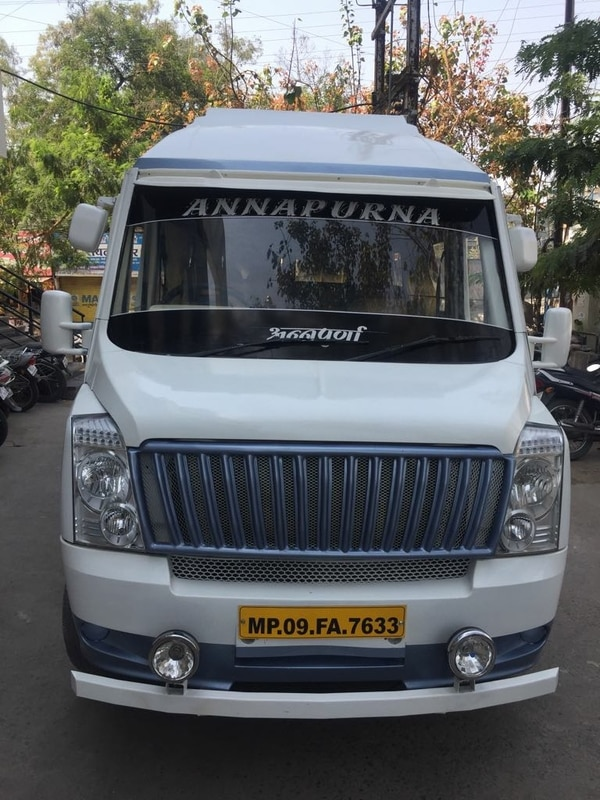 Tempo traveler on hire AC trav