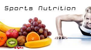 Sports Nutrition  We should al