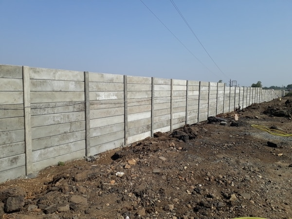 Rcc Readymade compound wall  W