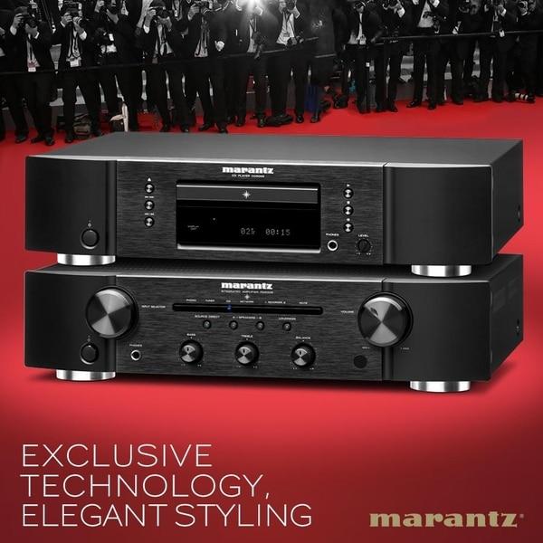 The Marantz PM5005 stereo inte