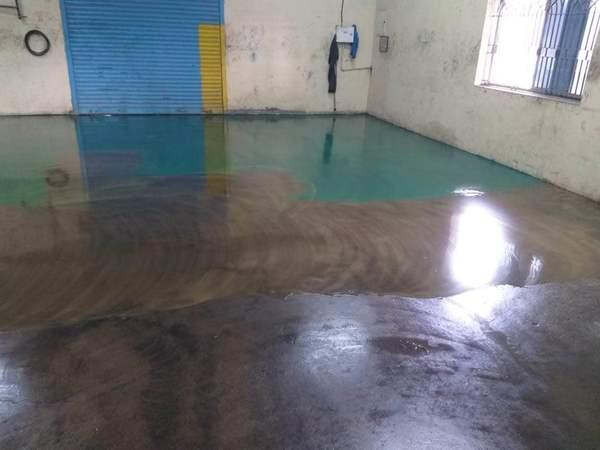 Esd flooring regularly doing t