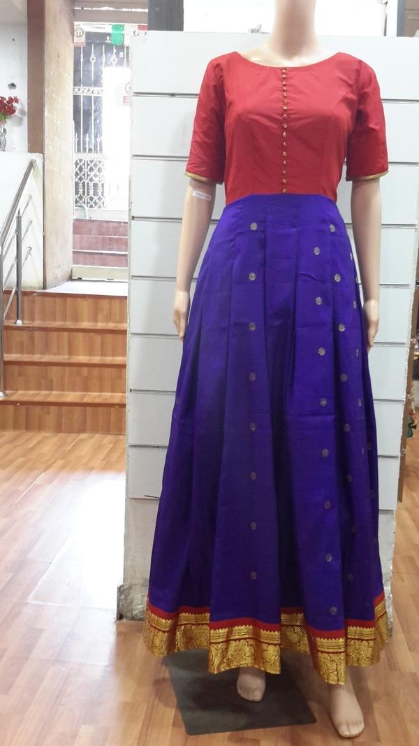 Old Silk Saree Into Beautiful