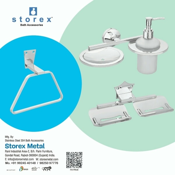 We Are Manufactures Of Luxury bathroom Accessories MANUFACTURES of Rajkot