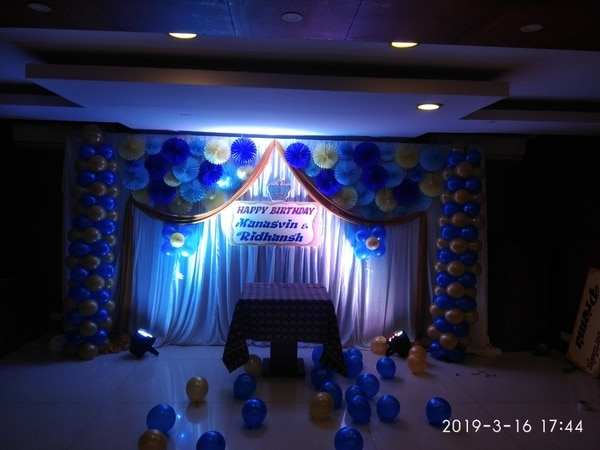 DECORATION FOR BDAY PARTY BALL