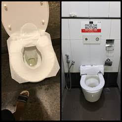 automatic toilet seat cover in
