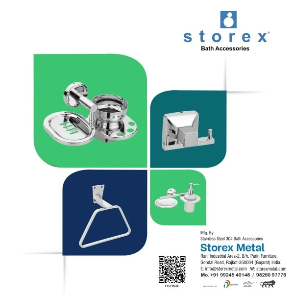 We are manufacturing of luxury bathroom accessories Manufacturing of Rajkot Stenless still productLuxury bathroom accessories