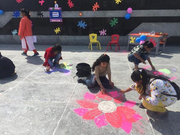 The festival of Colours Holo
