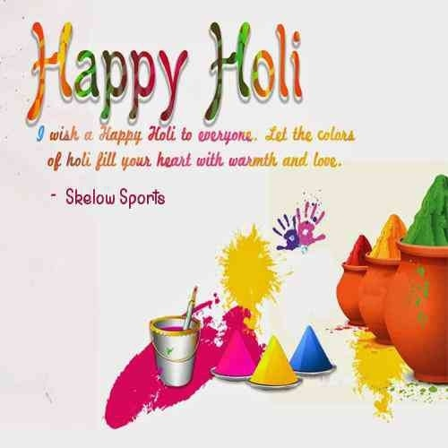 Let the vivid colors of Holi s