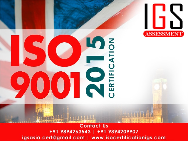 ISO 9001:2015 is the latest ed