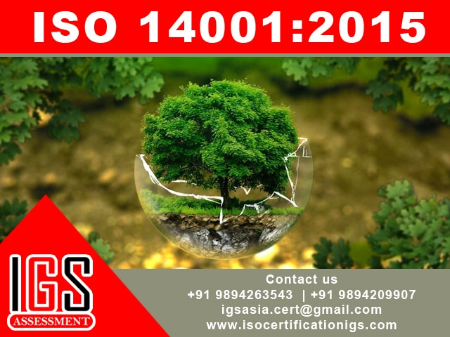 ISO 14001 includes the need fo