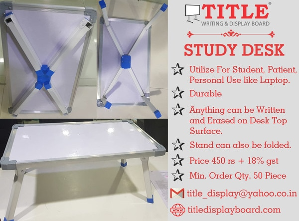 Study DeskContact 9328213061http://titledisplayboard.com/product-category/gift/