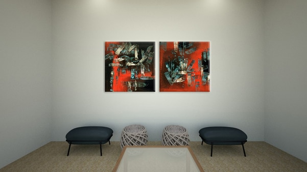 CANVAS PAINTINGS FOR WALL DECO