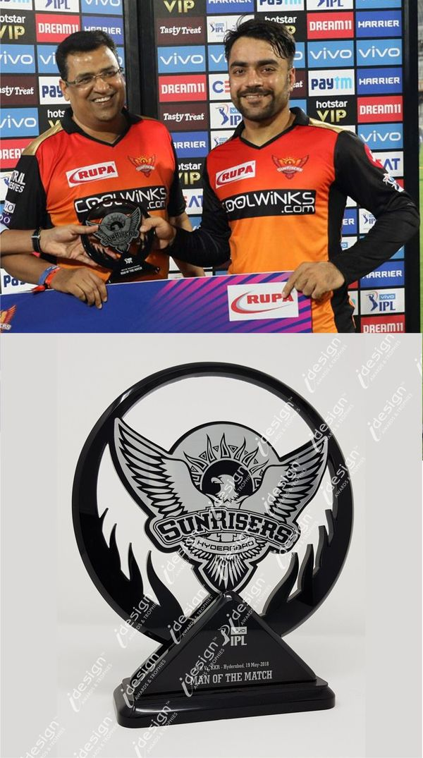 Designer Trophy Manufacturer in Tippasandra, IPL 2019, Man of the Match Trophy