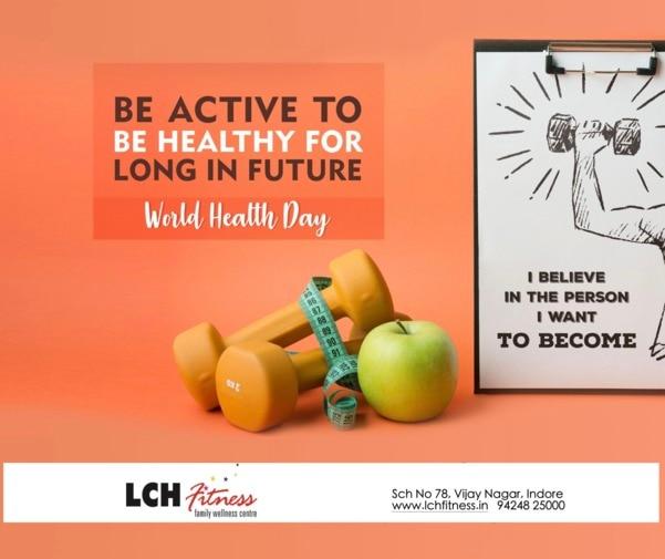 Celebrating World Health Day. Lch Fitne