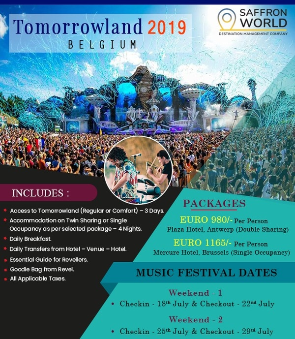 TOMORROWLAND 2019  #VYASHOLIDA
