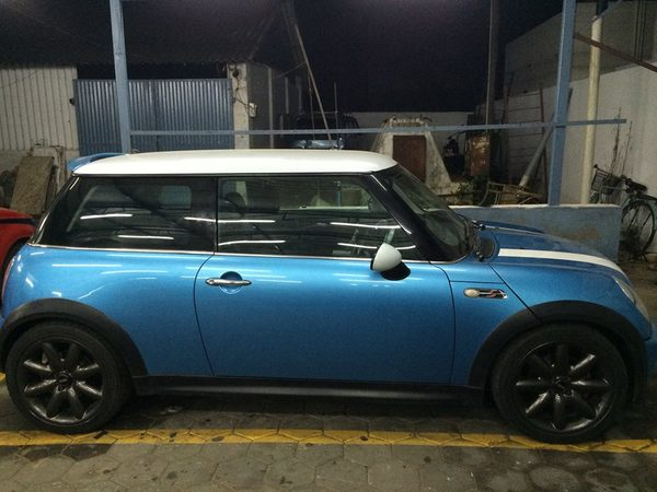 Mini Cooper Alteration In