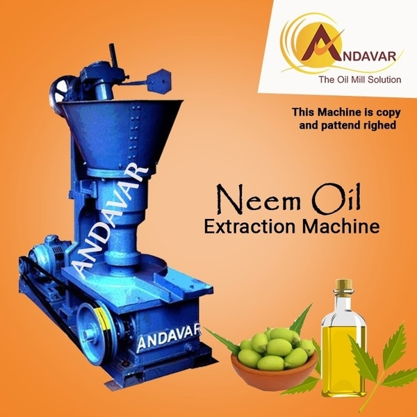 Neem Oil Extraction Machine Ma