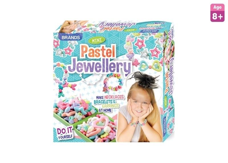 Mini pastal jewellery toy kit