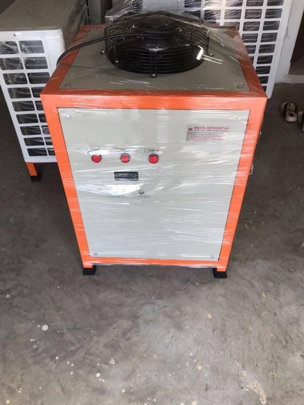Online Water Chiller Wardha Sheetal Refrigeration Contacts No :- 08030323058 Compressor :- Emerson Plate Type Heat Exchanger :- Kelvion co. (German made) Water Pump & Motor :- Orient Company Ready Stock Always 2 TR :- 500 LTR :- Per Hour 3 TR :- 750 LTR :- Per Hour 5 TR :- 1000 LTR :- Per Hour
