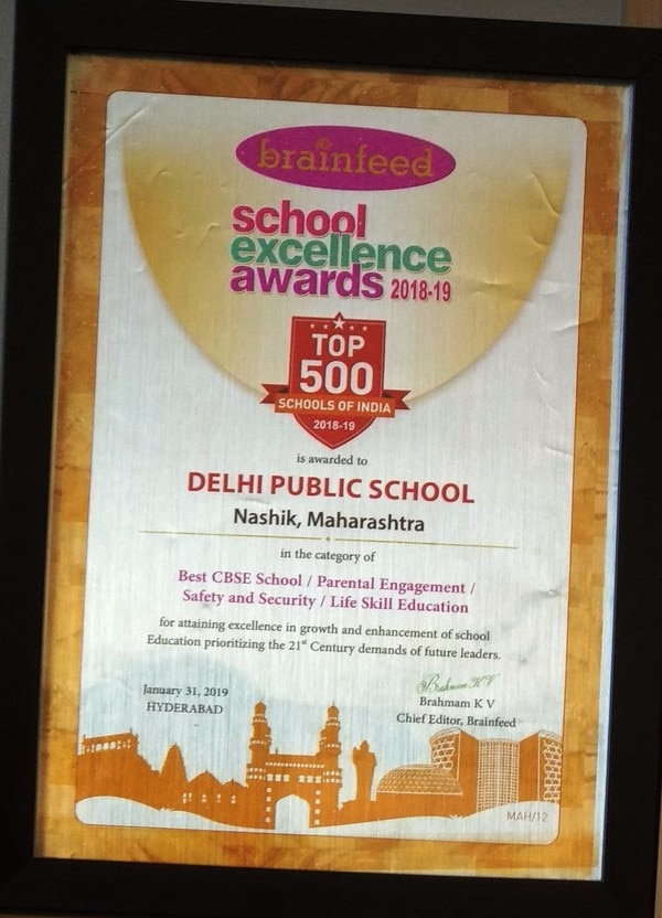 Excellence Award for DPS  With