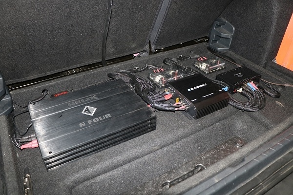 Audio systems upgraded an