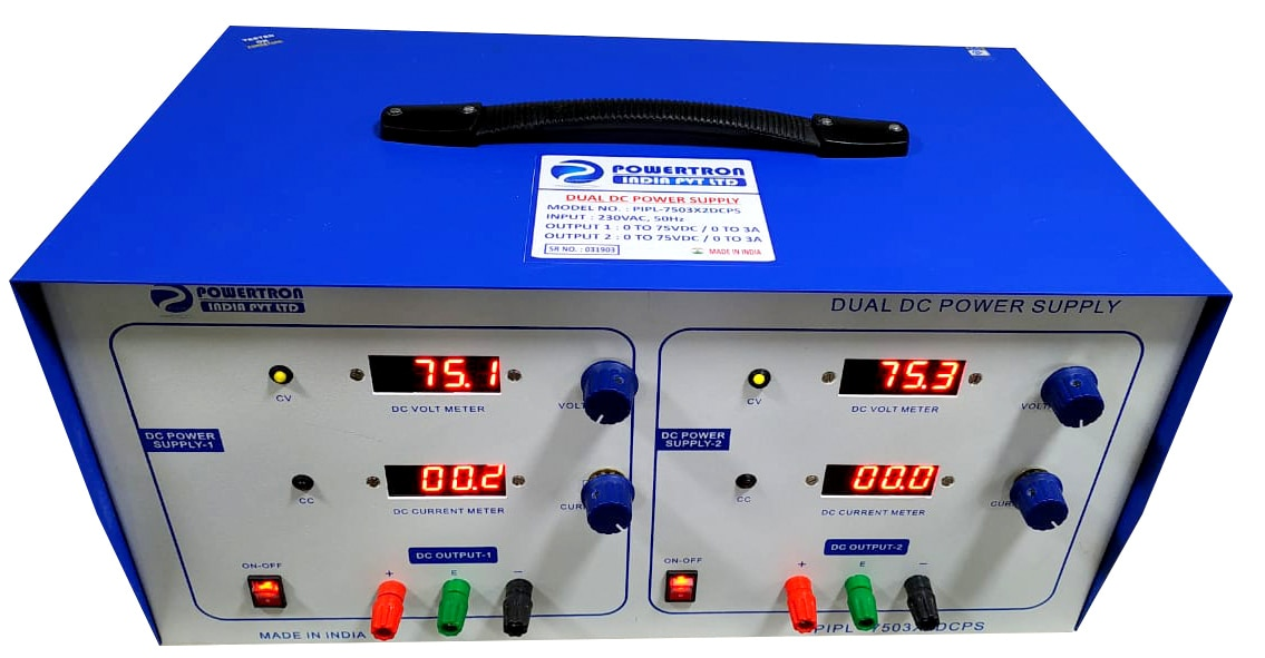 DC POWER SUPPLY For Engineering Application for Test Bench.--COMPANY NAME - POWERTRON INDIA PVT LTD--BRAND - POWERTRON--E-mail - info@powertronindia.com--Web : www.powertron.in              www.powertronindia.com