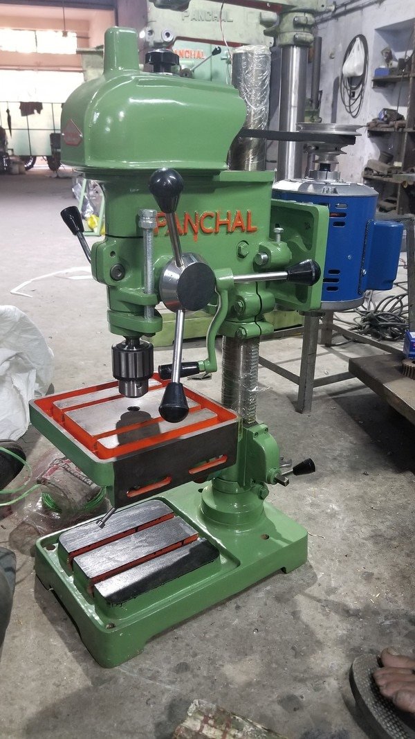 When it comes to Quality and Material,  Panchvati engineering is the Global Leading Manufacturer of  13 MM Pillar Drill Machine, this masterpiece is made by expert with the experience of 4 decades.With Robust technology and Long Durability this machine require very less maintenance and gives good outputFor More Details and Purchase of this MachineCall Now or Drop Your Message Below