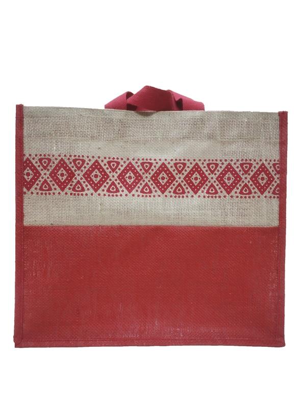 Custom Jute Carry Bag is used