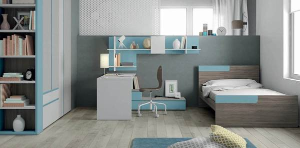 Modern children bed room .Chil