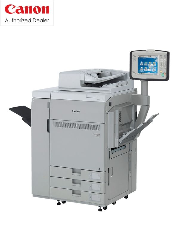 CANON C6501) Consistently Vivid (CV) toner for vividly crisp images2) R-VCSEL technology provides clear, crisp 2, 400 x 2, 400 dpi output at high speeds3) 190 Ipi dot-screen pattern for offset-like prints4) Compact Registration Technology (CRT) one of the best ine in its class5) Advanced Twin belt Fusing unit for the highest producitivity including mixed media up to 85ppm.Visit: www.rsmarketing.co.in