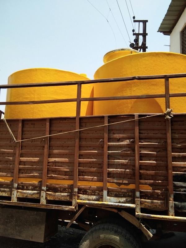 Hcl storage pp Frp tank
