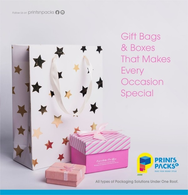 We make paper bags, paper carrier bags, brown bags, stationery, visiting cards, product packing boxes, etc. And we sell bags online
