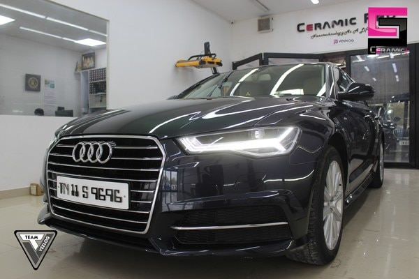 & nbsp;Audi A6 is coated with