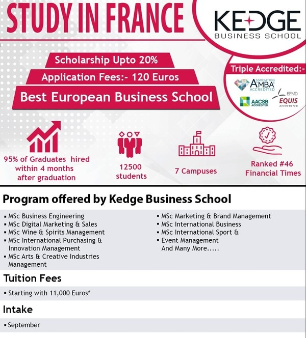 Study in Kedge Business S