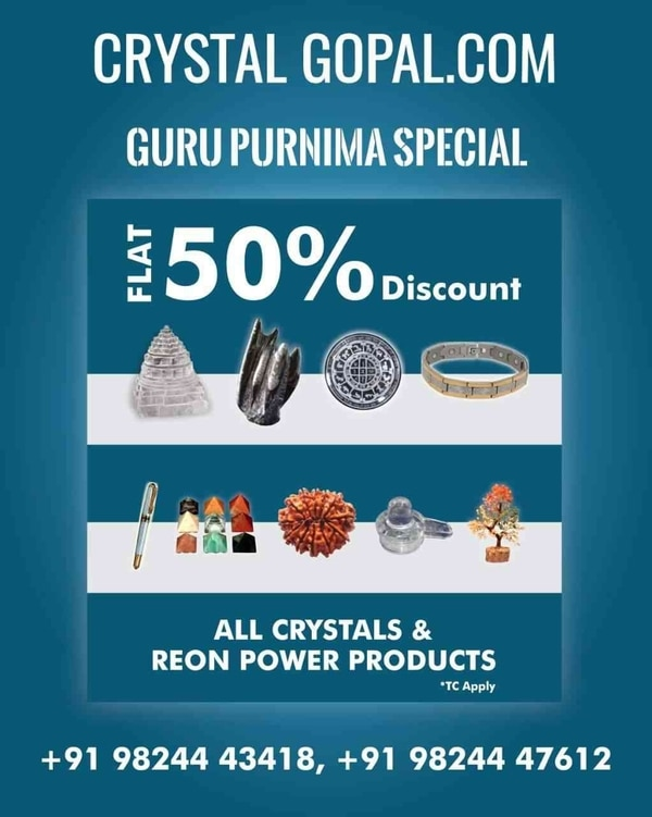 CRYSTAL GOPAL.COM.....Offer on