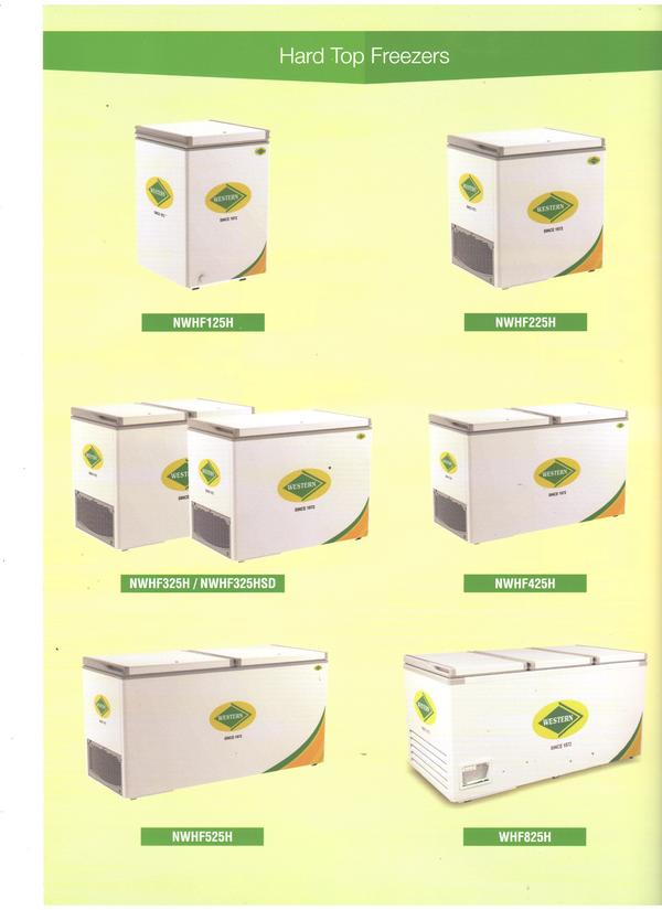 western freezers are available