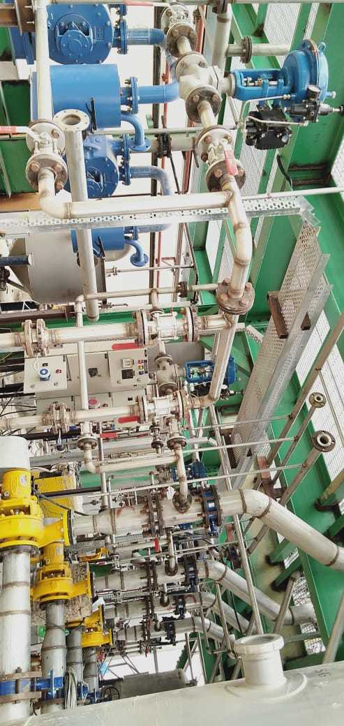 Evaporation Section Piping by SSEPL