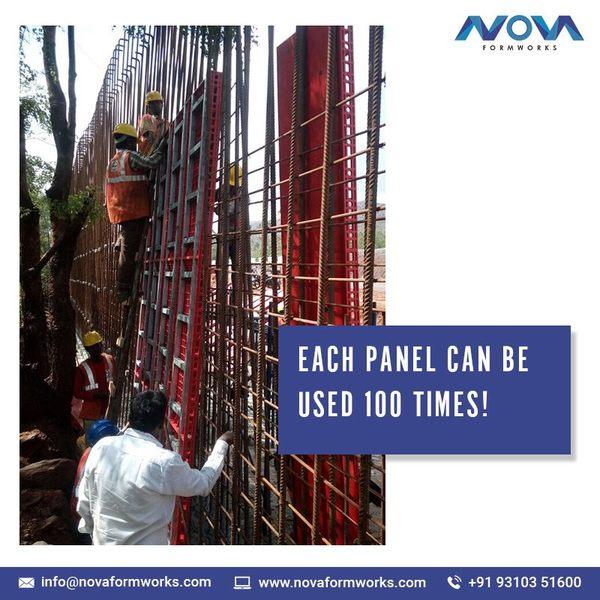 Nova Plastic Formwork panels c