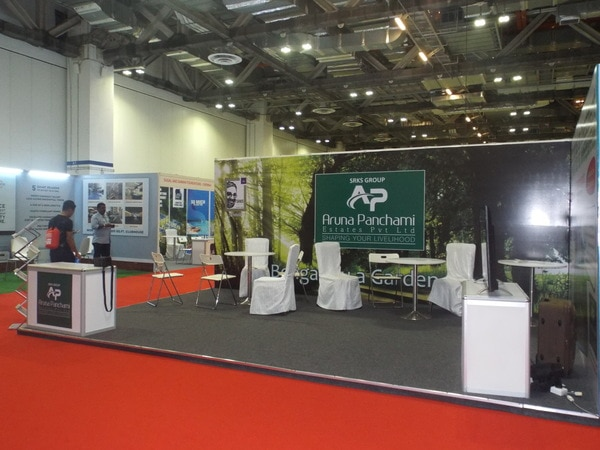 We are an Exhibition stall De
