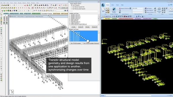 STAAD.Pro AdvancedSTAAD Foundation AdvancedComprehensive Foundation Design SoftwareGet efficient foundation design and documentation using plant-specific design tools, multiple design codes with U.S. and metric bar sizes, design optimization, and automatic drawing generation. STAAD Foundation Advanced provides you with a streamlined workflow through its integration with STAAD.Pro or as a stand-alone application. You can design virtually any type of foundation, from basic to the most complex.Buy  All Bentley Software on Monthly EMIALL BENTLEY PRODUCTS ARE AVAILABLE HERE >>> STAAD PRO, STAAD FOUNDATION, MXROAD, MXRAIL, OPENROADS DESIGNER, OPENRAIL DESIGNERS, MAP ENTERPRISE, MICROSTATION, WATERGEMS, SEWERGEMS, RM BRIDGE, OPENBRIDGE MODELER !!!#staadprosoftware #highwaydesignsoftware #bentleysoftwarereseller #RMbridgesoftware #Bridgedesignsoftware #staadpro #staad #MXROADsoftware #raildesignsoftware #roaddesignsoftware #MXRAIL #solidworkssoftware #openroaddesignersoftware #openraildesignersoftware # openroadsconceptstationconnectedition #staadproconnectedition