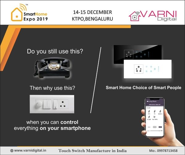 Smart-Touch-switch-bord-in-EluruSmart Wall Light Switch Touch Screen ControlSmart-Home-Automation-Touch-SwitchHome-Automation-Expo-KTPOeasy to install, replace the old switch directlySensitive panel, make your home remotely Smart Touch Screen ControlHome-Automation-Expo-KTPO-BangaloreSmart-Home-Automation-Expo-KTPO-Bangaloremore excellent performance and more sensitive touchFeather-touch-switchWall Light Switch Touch Screen Controlremote-control-light-switchTouch-switch-boardCapacitive switchmirror-touch-switchWith overload & overheat protectionSuitable for home, office, hotel, hospital and so onmirror-dimmer-switchHome Automation manufacturer IOT-Product-Development-serviceOEM-Touch-switch-SupplerWe are recognized as one of the leading Manufacturer and Supplier of an enhanced quality Touch Switch, Capacitive Touch Electrical Light Switch, Digital Remote Switchboard, Digital Touch Switch, etc.